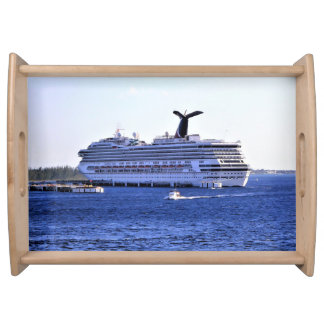 Cozumel Cruise Ship Visitor Serving Tray