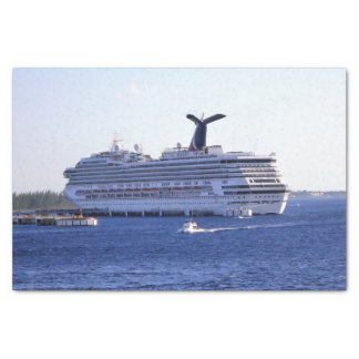 Cozumel Cruise Ship Visitor Tissue Paper