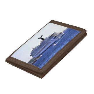 Cozumel Cruise Ship Visitor Tri-fold Wallets