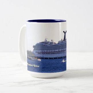 Cozumel Cruise Visit Custom Two-Tone Coffee Mug