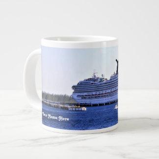 Cozumel Cruise Visitor Personalized Giant Coffee Mug