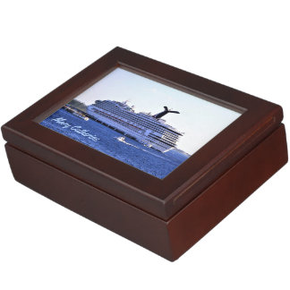 Cozumel Cruise Visitor Personalized Keepsake Box