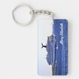 Cozumel Cruise Visitor Personalized Key Ring