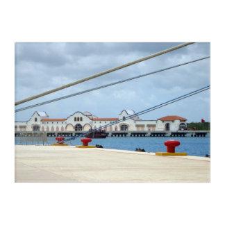 Cozumel Dockside Acrylic Wall Art