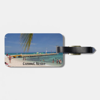 Cozumel Mexico Luggage Tag
