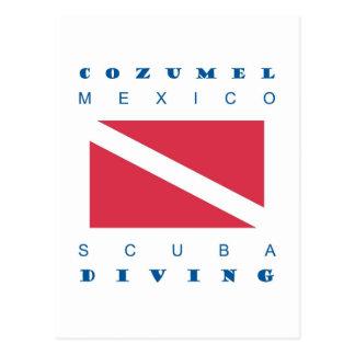 Cozumel Mexico Scuba Dive Postcards