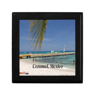 Cozumel Mexico Small Square Gift Box