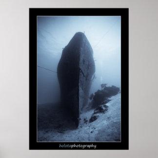 Cozumel - Shipwreck 11-2009 Poster