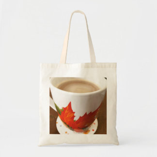 Cozy Autumn Coffee Tote Bag