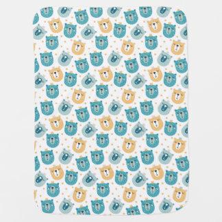 Cozy Bear Baby Blanket