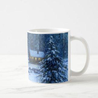 """""""Cozy Cabin In the Snow"""" Mug"""
