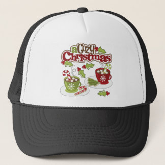 Cozy Chirstmas Trucker Hat