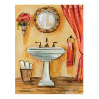 Cozy Contemporary Bathroom Post Card