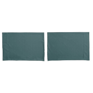 Cozy Day Teal Reversible Pillowcase