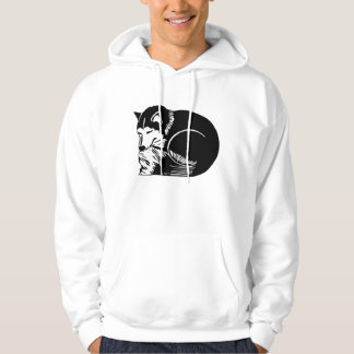 Cozy Husky Men's Hooded Sweatshirt