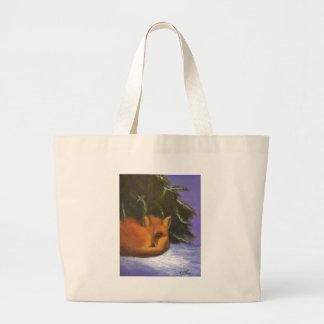 Cozy Morning Large Tote Bag