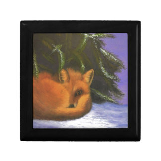 Cozy Morning Small Square Gift Box