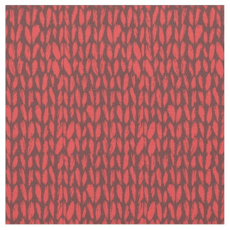 cozy red sweater fabric