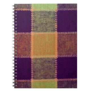 Cozy Warm Plaid Pattern Notebook