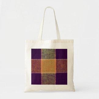 Cozy Warm Plaid Pattern Bag