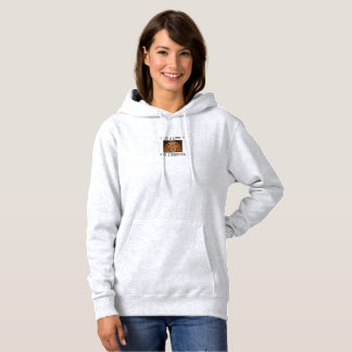 Cozy women's  hooded sweatshirt