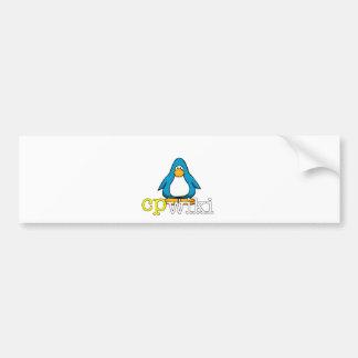 Cp Penguin Bumper Sticker