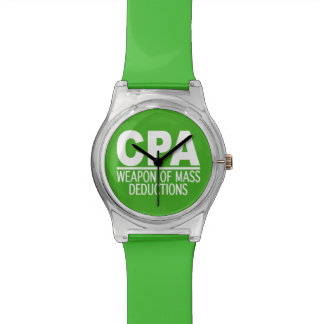 CPA custom color watches