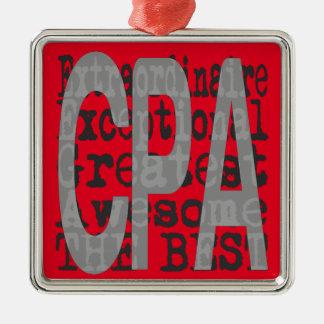 CPA Extraordinaire Metal Ornament