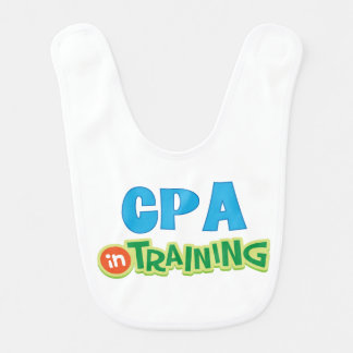 Cpa in Training Kids Shirt Bib