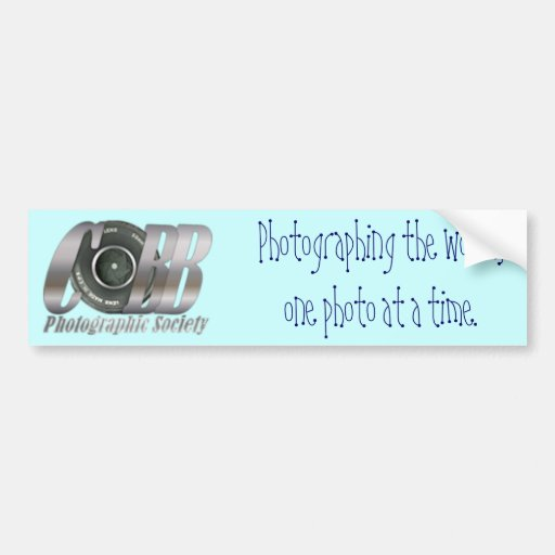 CPA_Logo, Photographing the world,one photo at ... Bumper Stickers