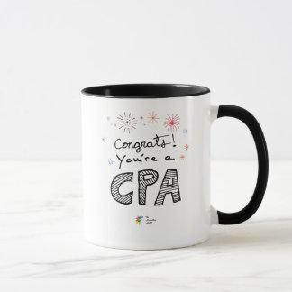CPA Mug - Congrats! You're a CPA