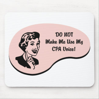CPA Voice Mouse Pad
