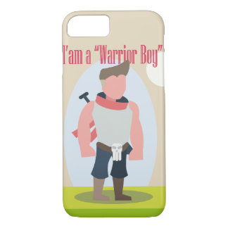 Cpacell-WarriorBoyModel2 iPhone 8/7 Case
