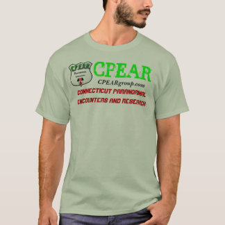 CPEAR Connecticut Paranormal Encounters & Researh T-Shirt