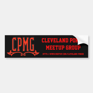 CPMG Bumper Sticker