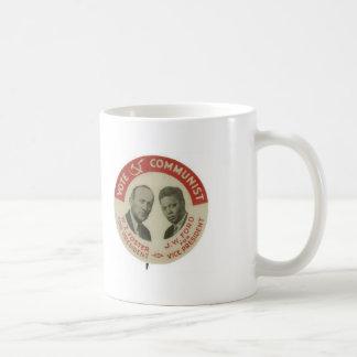 CPUSA Foster/Ford 1932 Presidential Election Mug