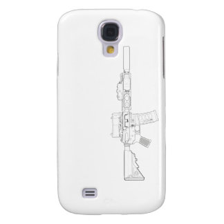 CQBR MK18 Mod 0 Galaxy S4 Case