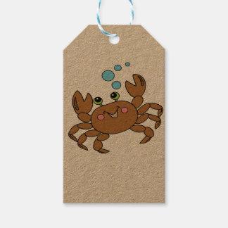 Crab 3 gift tags