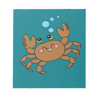 Crab 3 notepad
