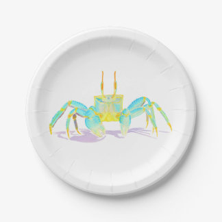 crab_6500_shirts 7 inch paper plate