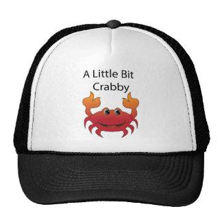 """Crab """"A Little Bit Crabby"""" Hats"""