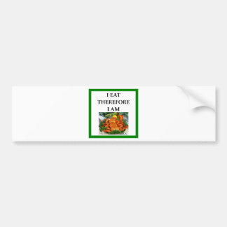 crab bumper sticker