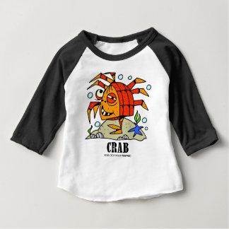 Crab by Lorenzo © 2018 Lorenzo Traverso Baby T-Shirt