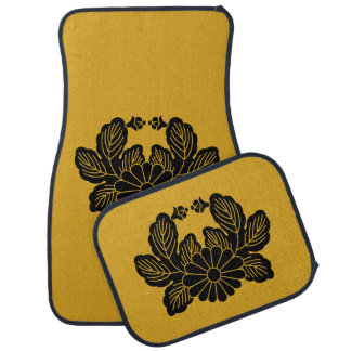 Crab chrysanthemum (crest 之 spring) car mat