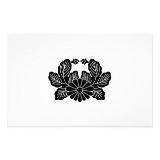 Crab chrysanthemum (crest 之 spring) stationery