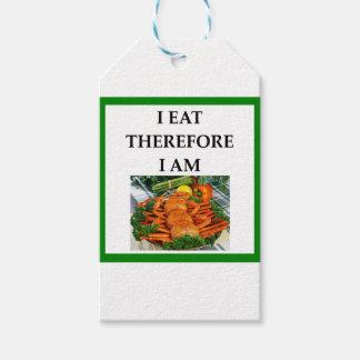 crab gift tags