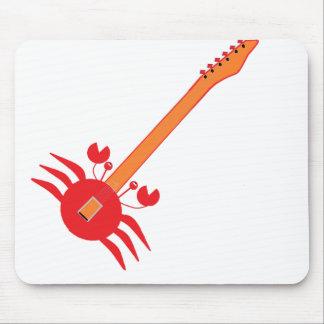Crab Guitar Mouse Pad