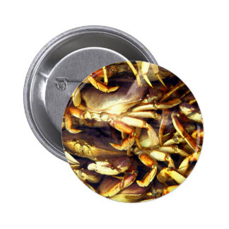 Crab Lover_ Button