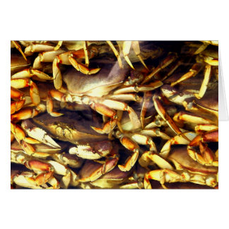Crab Lover_ Greeting Card