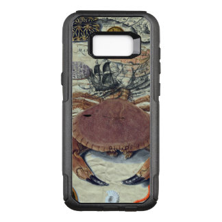 Crab Map OtterBox Commuter Samsung Galaxy S8+ Case